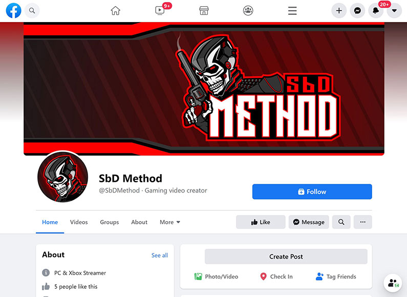 SbD Method Facebook page